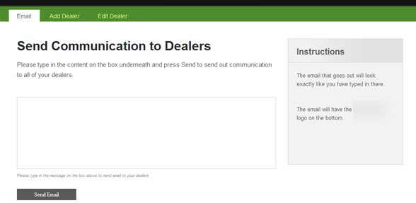 Dealer Communication and Management