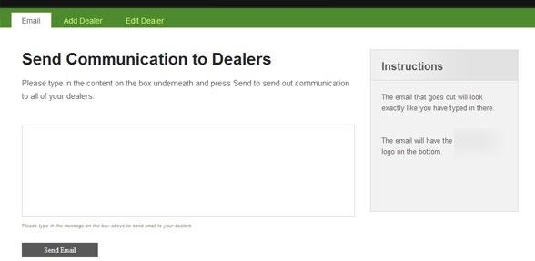 Dealer Communication and Management