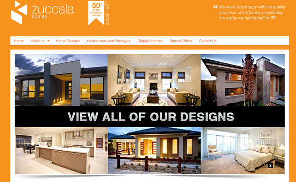 Zuccala Homes - Melbourne Home Builders - User Experience