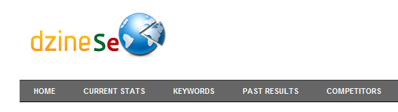 Keyword Ranking Tool Navigation