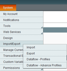 Magento Commerce 1.5 new features - Import / Export