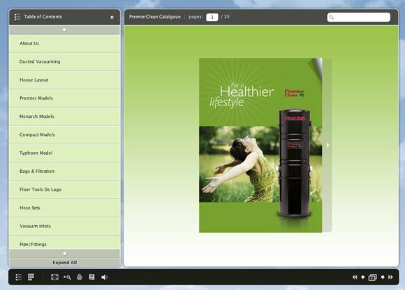 PremierClean Interactive e-Catalogue