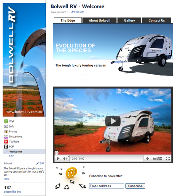 Bolwell RV Facebook Fan Page
