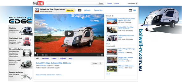 Bolwell RV YouTube Channel Design